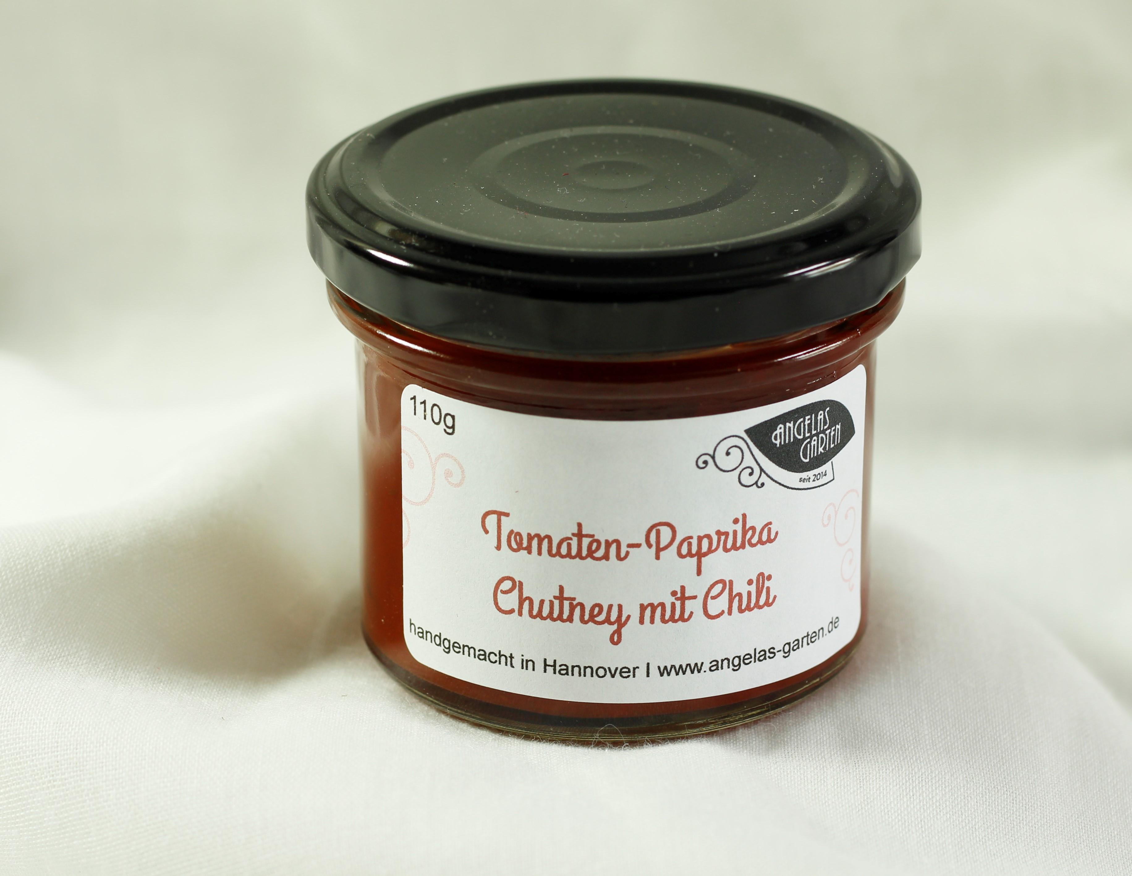 Tomaten-Paprika Chutney mit Chili 110g